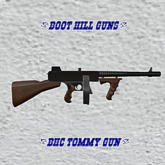 Boot Hill Tommy Gun (Boxed)
