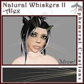 Ephemeral Neko - Natural Whiskers (Series 2) - Alex