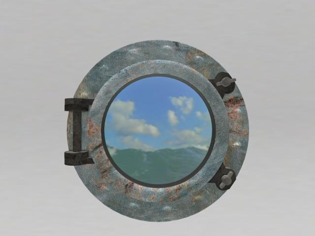 :.WS.: Nautical Porthole Animated Art RARE