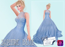 ~*~Shar's Gowns~*~Saphire Blue