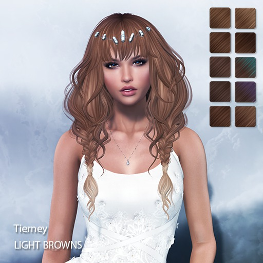 TRUTH HAIR Tierney -  light browns