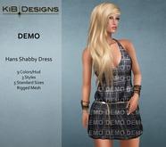 KiB Designs - Hans Shabby Dress DEMO