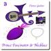 Prince Symbol Fascinator Necklace and Guitars