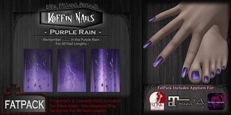 Koffin Nails - FatPack - Purple Rain
