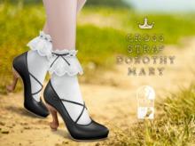 {sallie} Cross Strap Dorothy Mary - black