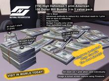 ![YN] 1 prim American 100 Dollar Bill Money Stack Value Pack