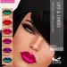 Oceane   urban lipsticks   liners 6 pack