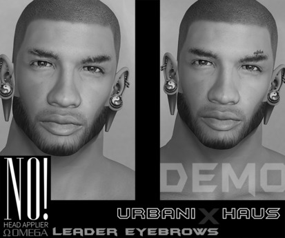 [Urbanix] NO! DEMO Leader Eyebrows OMEGA Applier