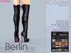 -KC- BERLIN Boots Maitreya, Belleza, Slink Hourglass, Physique