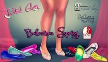!Twisted Glam. - Ballerina White Spring MAITREYA/BELLEZA/SLINK