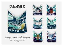 carasmatic. vintage coastal wall hanging