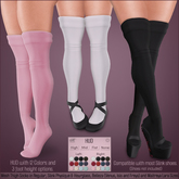 *MUKA* Thigh Socks (Slink Shoes Compatible)