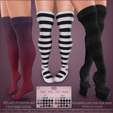 *MUKA* Thigh Socks Patterns (Slink Shoes Compatible)