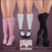 *MUKA* Knee Socks (Slink Shoes Compatible)
