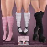 *MUKA* Knee Socks (Slink Shoes Compatible)