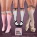 *MUKA* Garter Socks Light (Slink Shoes Compatible)