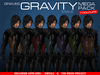 GRAVES Gravity - Megapack - male - all 7 colours + inclusive Omega, TMP appliers