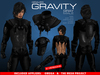 GRAVES Gravity - Gray - male + inclusive Omega, TMP appliers