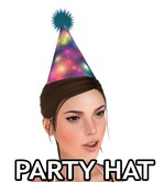 Animated Mesh Party Hat