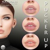 Pucker UP - Naturals - Lip Colour Trio for CATWA 'Annie'