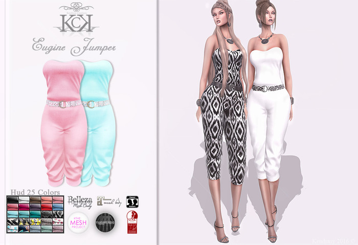 :::KC::: Eugine Jumpsuit