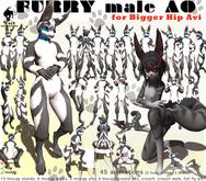 Voir - FURRY male AO for Bigger Hip Avi