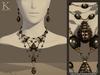 (Kunglers) Amora set - Obsidian