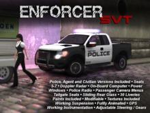 Police Enforcer SVT - Civilian, Agent, & Police Truck Multipack