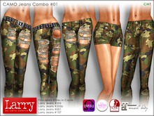 LARRY JEANS - CAMO Combo Pack 01