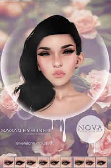 < nova > Sagan Eyeliner < WEAR ME >