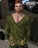 XK Wrap Shirt Olive