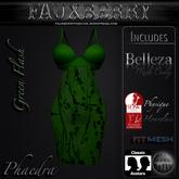 ::FAUXBERRY:: Phaedra Dress - GREEN FLASH