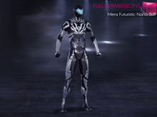 MI960823 MI Mens Futuristic Nano Suit