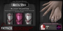 Koffin Nails - FatPack - Bloody Valentine