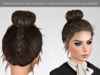 Braided topknot materials