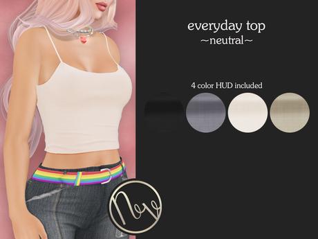 neve top - everyday neutral