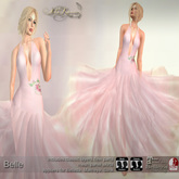 .:FlowerDreams:.Belle - pink applier gown