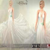 .:FlowerDreams:.Belle - ice blue (appliers included)