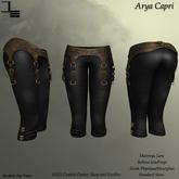 DE Designs - Arya Capri - Black