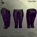 DE Designs - Arya Capri - Purple