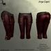 DE Designs - Arya Capri - Red