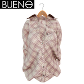 BUENO- Breeze Shirt - Pale Plaid