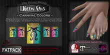 DP - Koffin Nails - FatPack - Carnival Colors (Boxed)