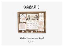 carasmatic. shabby chic memo board