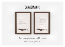 carasmatic. the symposium wall print