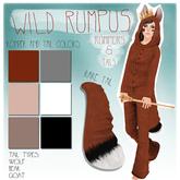 [Aux] Wild Rumpus Tail - Wolf (brown)