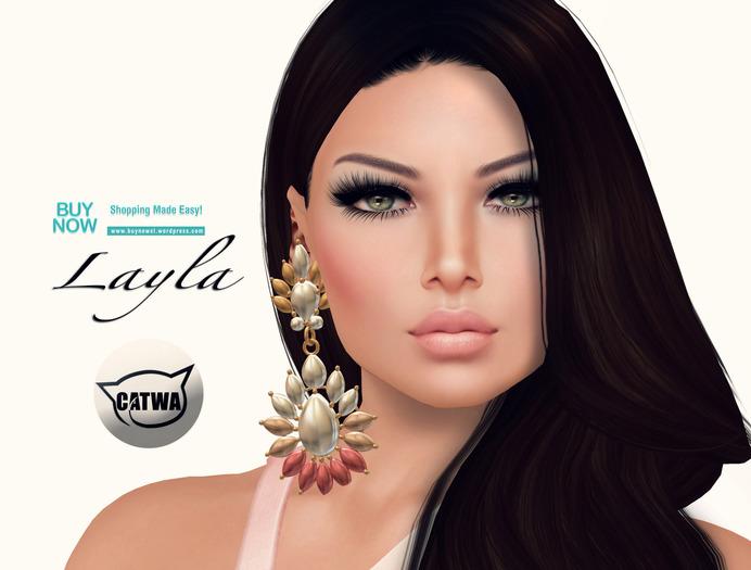 .::WoW Skins::. 2016 Layla Bronze Catwa applier