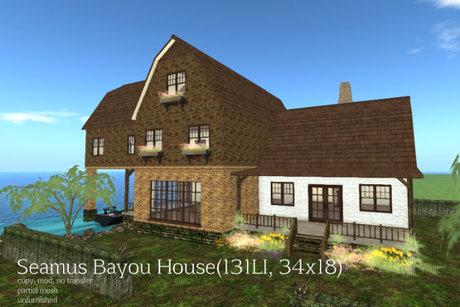 Seamus Bayou House(131LI, 34x18)