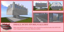 WICKED CREATIVE STUDIOS ~ SMALL SCIFI STYLE STORE/GALLERY