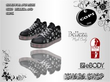 skull sneakers slink female 1